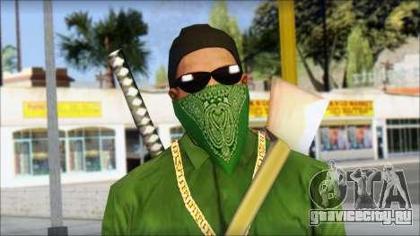 New CJ v6 для GTA San Andreas третий скриншот