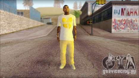 New Grove Street Family Skin v4 для GTA San Andreas