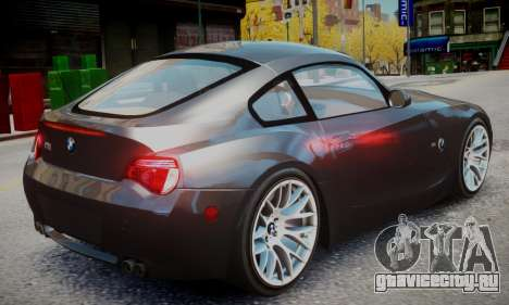 BMW Z4M для GTA 4 вид слева