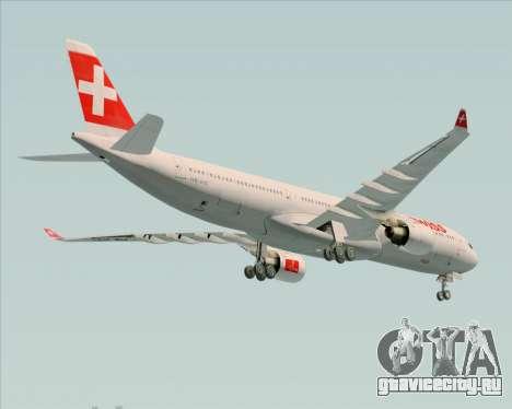 Airbus A330-300 Swiss International Air Lines для GTA San Andreas вид сбоку