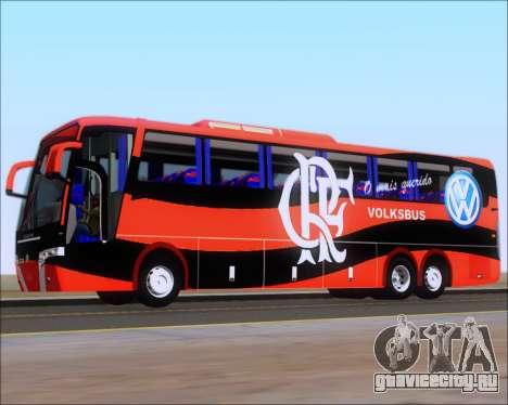 Busscar Elegance 360 C.R.F Flamengo для GTA San Andreas колёса