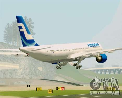 Airbus A330-300 Finnair (Old Livery) для GTA San Andreas салон