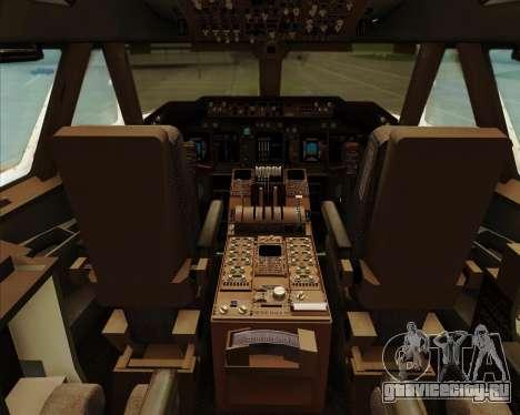 Boeing 747-8 Intercontinental United Airlines для GTA San Andreas салон