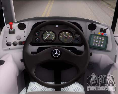 Marcopolo Torino 2007 Mercedes-Benz OF-1418 для GTA San Andreas двигатель
