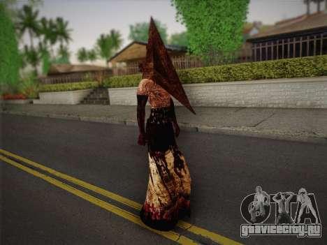 Pyramid Head From Silent Hill: Homecoming для GTA San Andreas третий скриншот