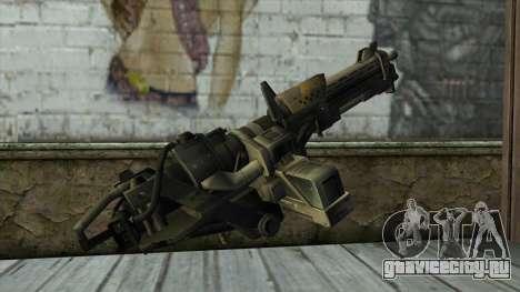 M247 Machine Gun Jorge Of Halo Reach для GTA San Andreas второй скриншот