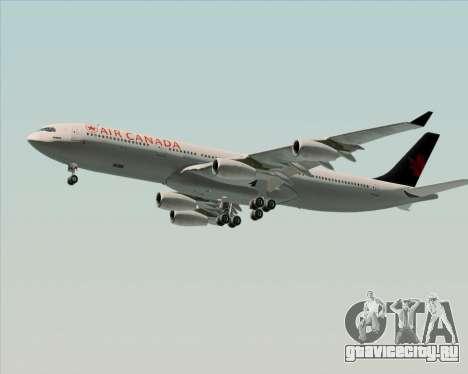 Airbus A340-313 Air Canada для GTA San Andreas двигатель