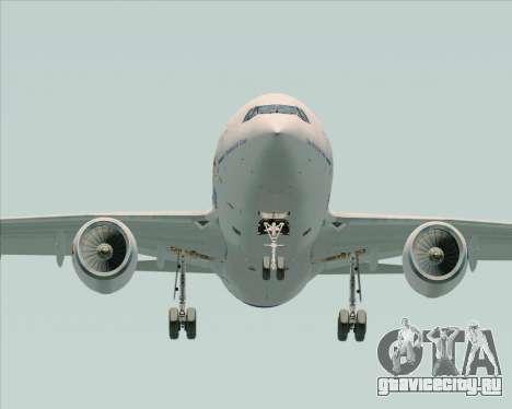 Airbus A310-300 Federal Express для GTA San Andreas вид изнутри