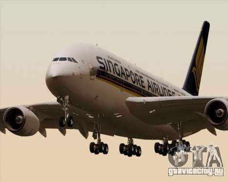 Airbus A380-841 Singapore Airlines для GTA San Andreas