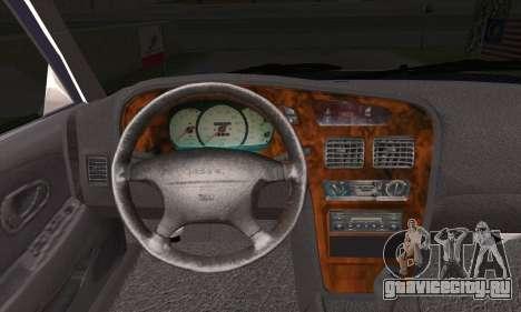 Proton Wira Official Malaysian Limousine для GTA San Andreas вид сзади слева
