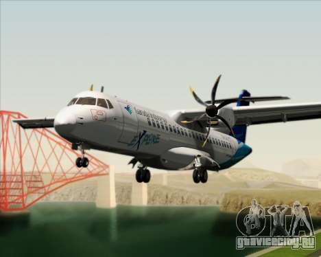 ATR 72-500 Garuda Indonesia Explore для GTA San Andreas