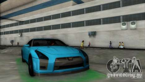 Nissan GT-R Prototype для GTA Vice City