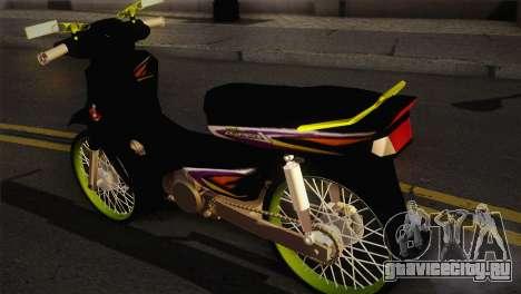 Honda Astrea для GTA San Andreas вид слева