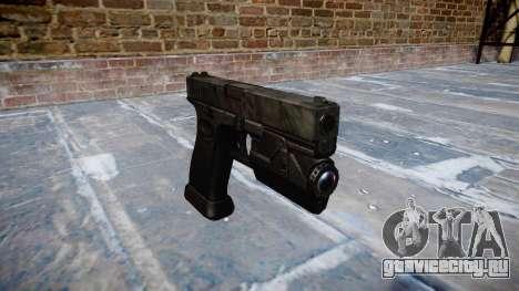 Пистолет Glock 20 kryptek typhon для GTA 4