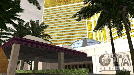 Новые текстуры казино Visage в Лас Вентурасе для GTA San Andreas пятый скриншот