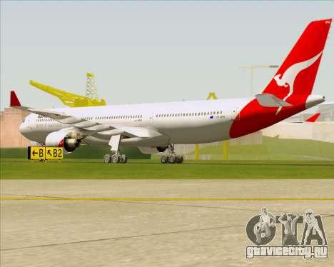 Airbus A330-300 Qantas для GTA San Andreas вид справа