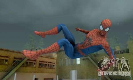The Amazing Spider Man 2 Oficial Skin для GTA San Andreas
