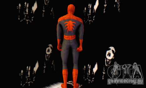 Skin The Amazing Spider Man 2 - Suit Edge Of Tim для GTA San Andreas второй скриншот