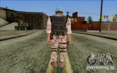 Чешский Миротворец для GTA San Andreas второй скриншот