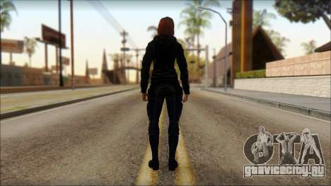 Mass Effect Anna Skin v10 для GTA San Andreas второй скриншот