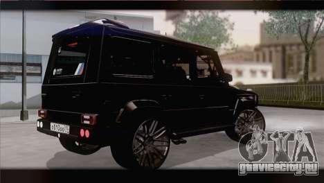 Brabus B65 v1.0 для GTA San Andreas вид слева