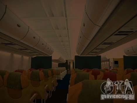 Airbus A380-800 Thai Airways International для GTA San Andreas колёса