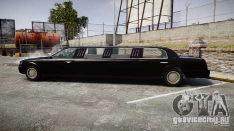 GTA V Albany Washington Limousine для GTA 4 вид слева