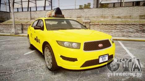GTA V Vapid Taurus Taxi LCC для GTA 4