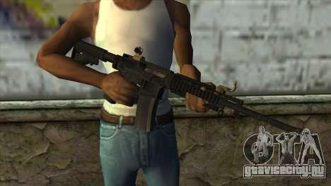CAR-4 from Pay Day 2 для GTA San Andreas третий скриншот