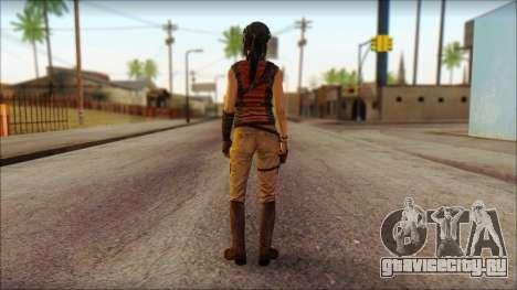 Tomb Raider Skin 5 2013 для GTA San Andreas второй скриншот