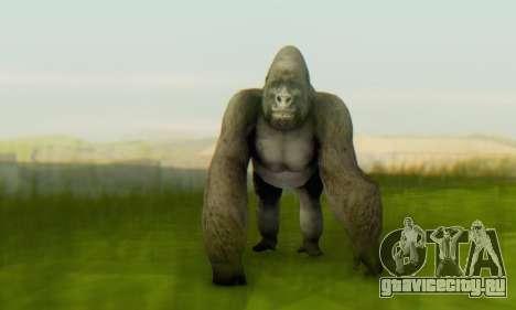 Gorilla (Mammal) для GTA San Andreas второй скриншот