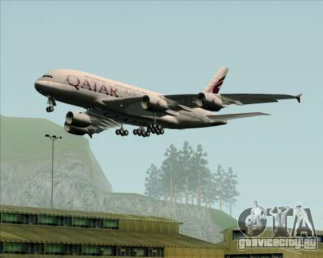 Airbus A380-861 Qatar Airways для GTA San Andreas