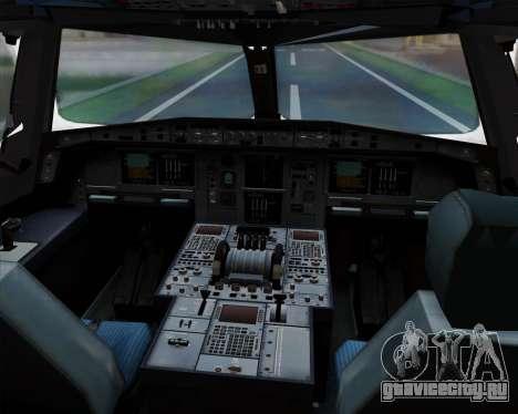 Airbus A380-841 China Southern Airlines для GTA San Andreas салон