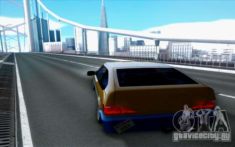 Blista By Next для GTA San Andreas вид сзади слева