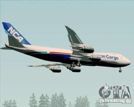 Boeing 747-8 Cargo Nippon Cargo Airlines для GTA San Andreas вид справа