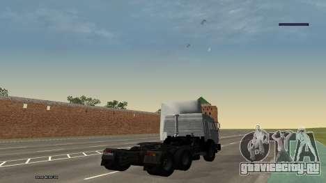 КамАЗ 54115 для GTA San Andreas вид слева