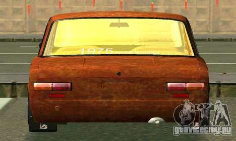 ВАЗ 2101 Rat-look для GTA San Andreas вид сбоку