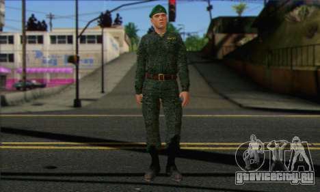 Рядовой Мотострелковых Войск. САР v1 для GTA San Andreas