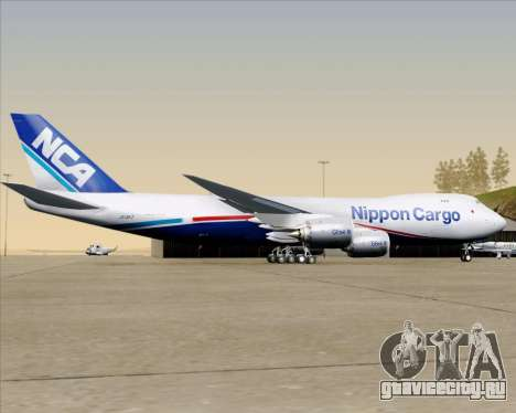 Boeing 747-8 Cargo Nippon Cargo Airlines для GTA San Andreas
