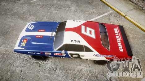Dodge Challenger 1971 v2.2 PJ10 для GTA 4 вид справа
