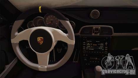Porsche 911 GT3RSR для GTA San Andreas вид сзади