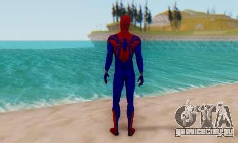 Skin The Amazing Spider Man 2 - Ben Reily для GTA San Andreas третий скриншот