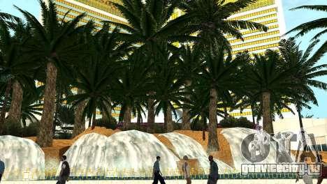 Новые текстуры казино Visage в Лас Вентурасе для GTA San Andreas четвёртый скриншот