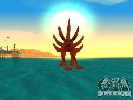 Трансформация Kyubi для GTA San Andreas пятый скриншот