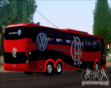 Busscar Elegance 360 C.R.F Flamengo для GTA San Andreas вид сзади слева