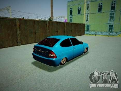 Lada Priora Coupe для GTA San Andreas вид справа