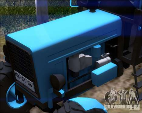 МТЗ-80 для GTA San Andreas вид сбоку