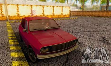 Dacia 1300 Stock 1979 для GTA San Andreas вид сзади слева