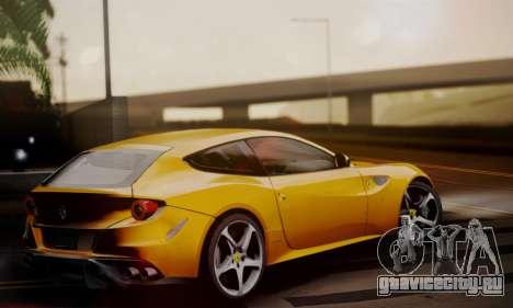 Ferrari FF 2012 для GTA San Andreas вид слева