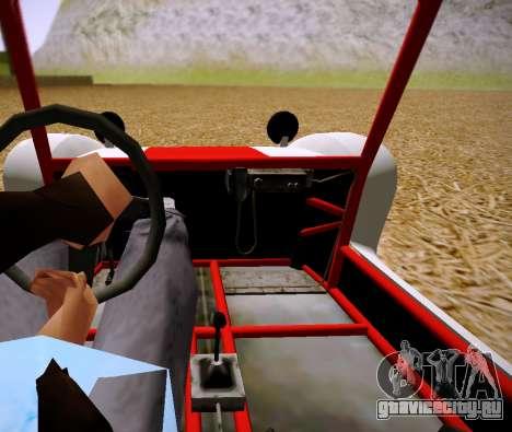 GTA 5 Bifta для GTA San Andreas вид сзади слева